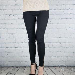 Vanille Style Pants - Back In!🔃Black Plus Size Moto Jeggings